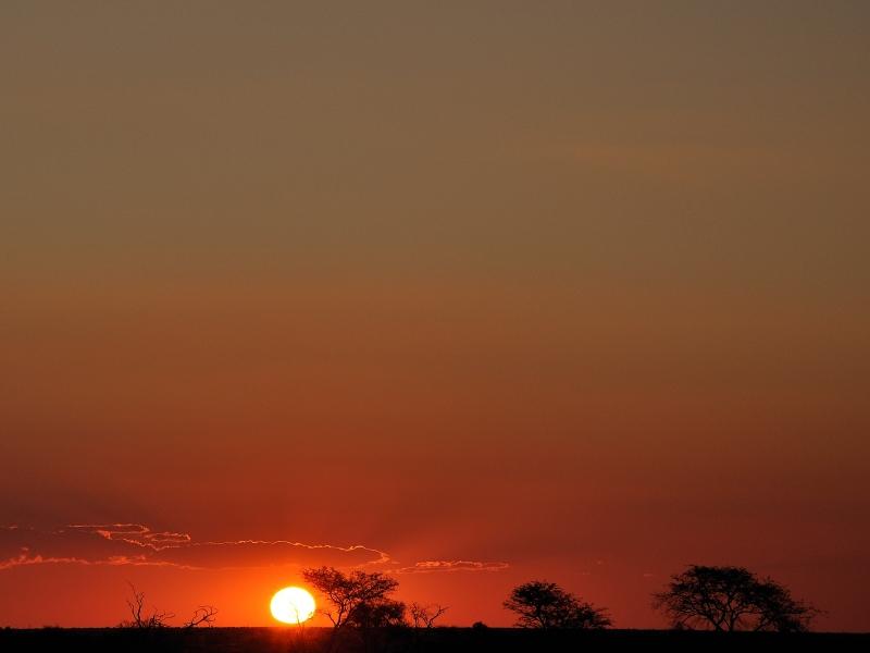 Tiefe Sonne