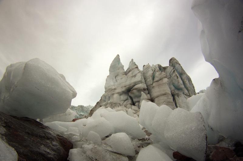 Gletscher bei Grönland