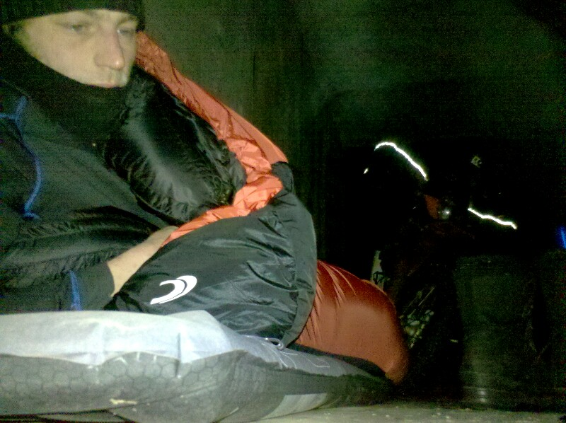 Nachtlager unter der Brücke