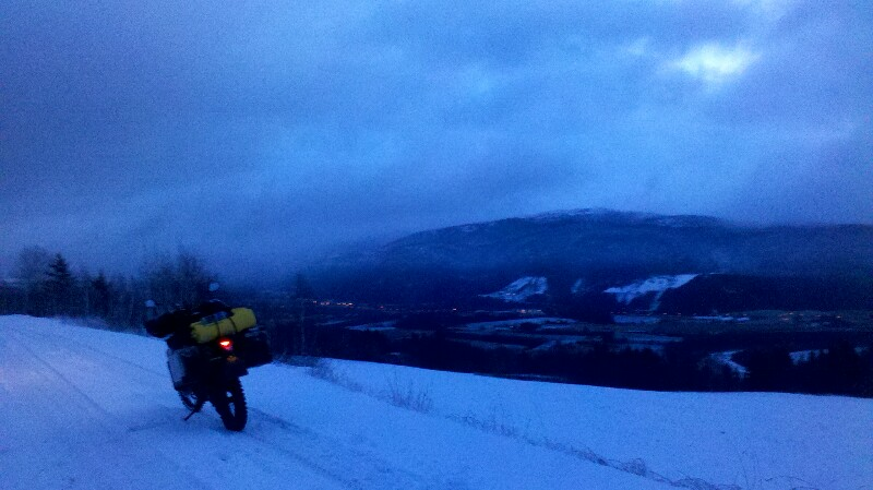 Bergroute in Südnorwegen