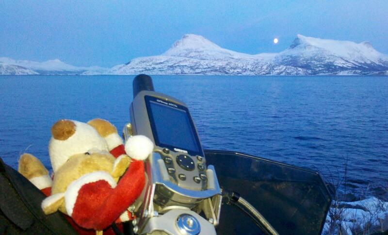 Blick auf den Tysfjord