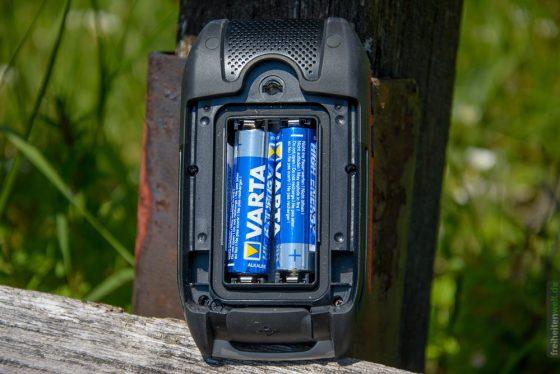 Falk Lux 32 Batteriefach