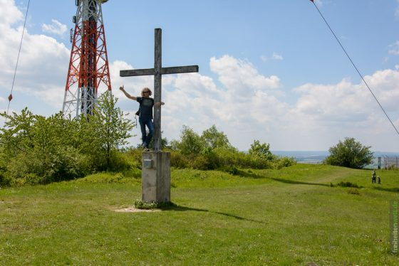 Gipfelglück am Hesselberg