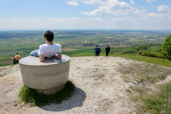 Aussichtspunkt am Hesselberg