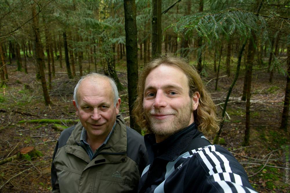 Vater und Sohn Martin und Karl Leonhardt