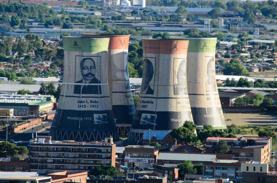 Kraftwerk in Bloemfontein