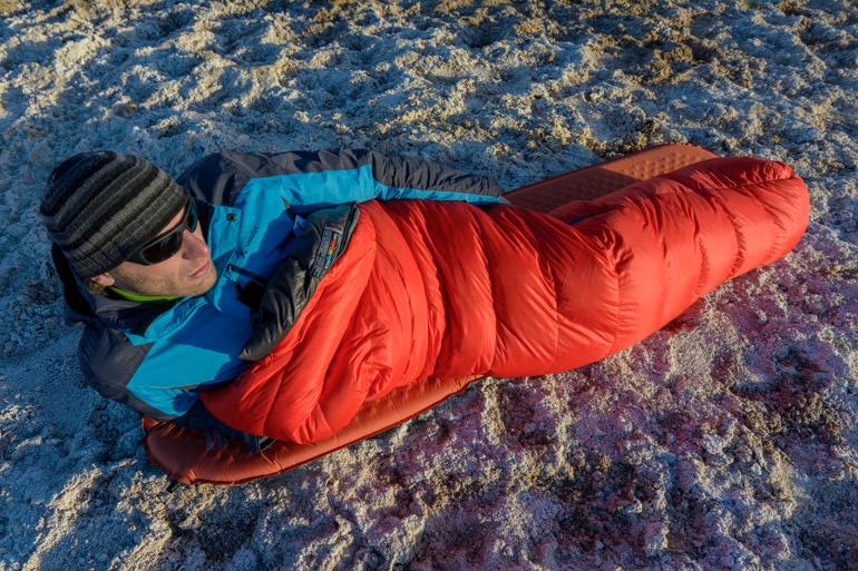 Mammut Sphere UL Daunenschlafsack im Test