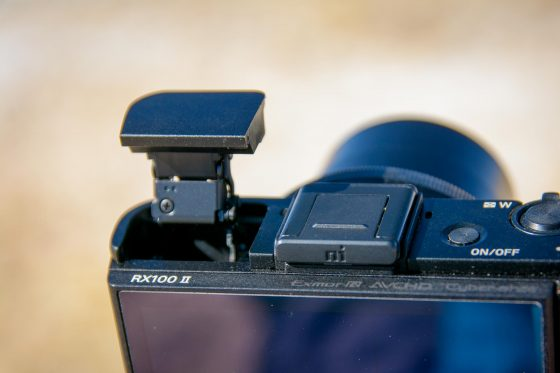 Sony RX100 II Blitz2