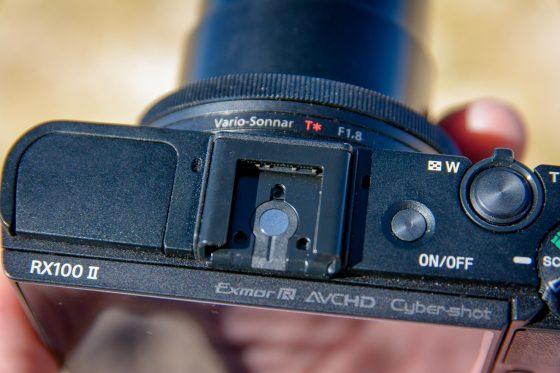 Sony RX100 II oben