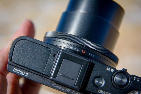 Sony RX100 II oben2