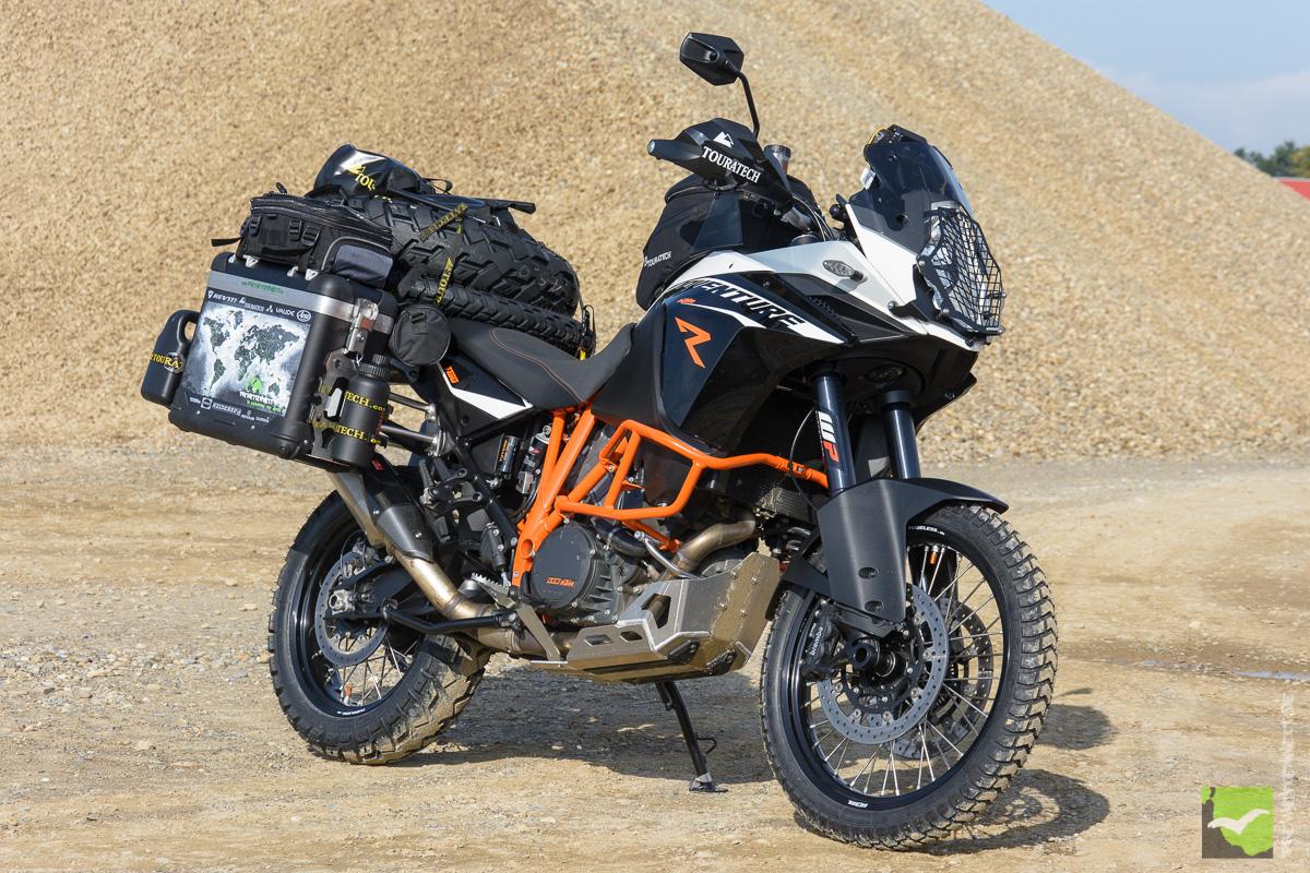 KTM 1190 Adventure R TT für Weltreise