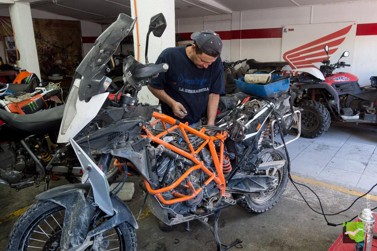 Mechaniker Honda