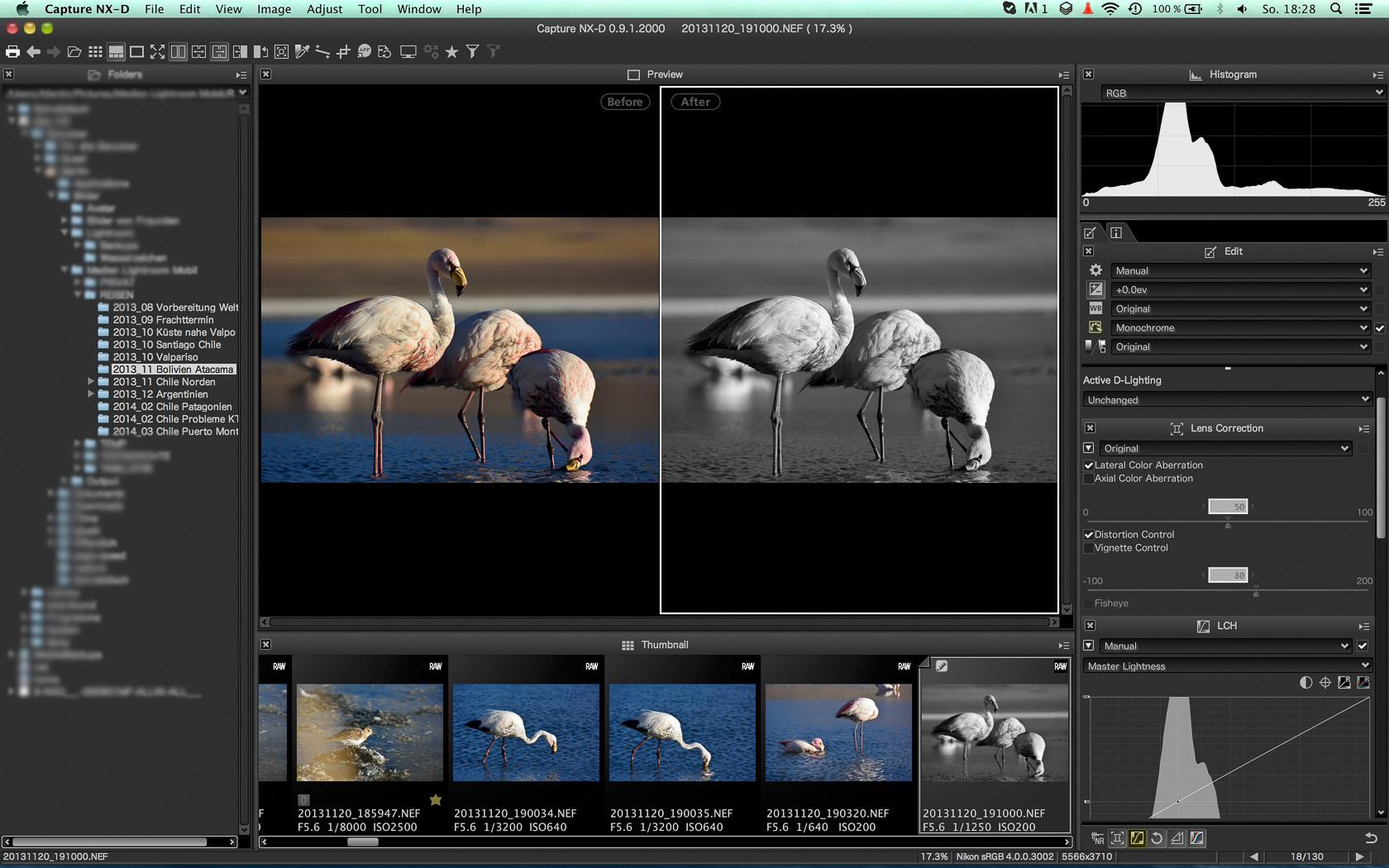 Nikon Capture NX-D Fullscreen