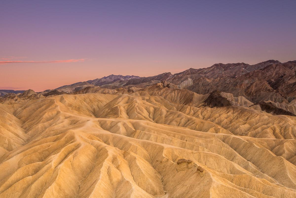 Zabriskie Point im Death Valley Nationalpark