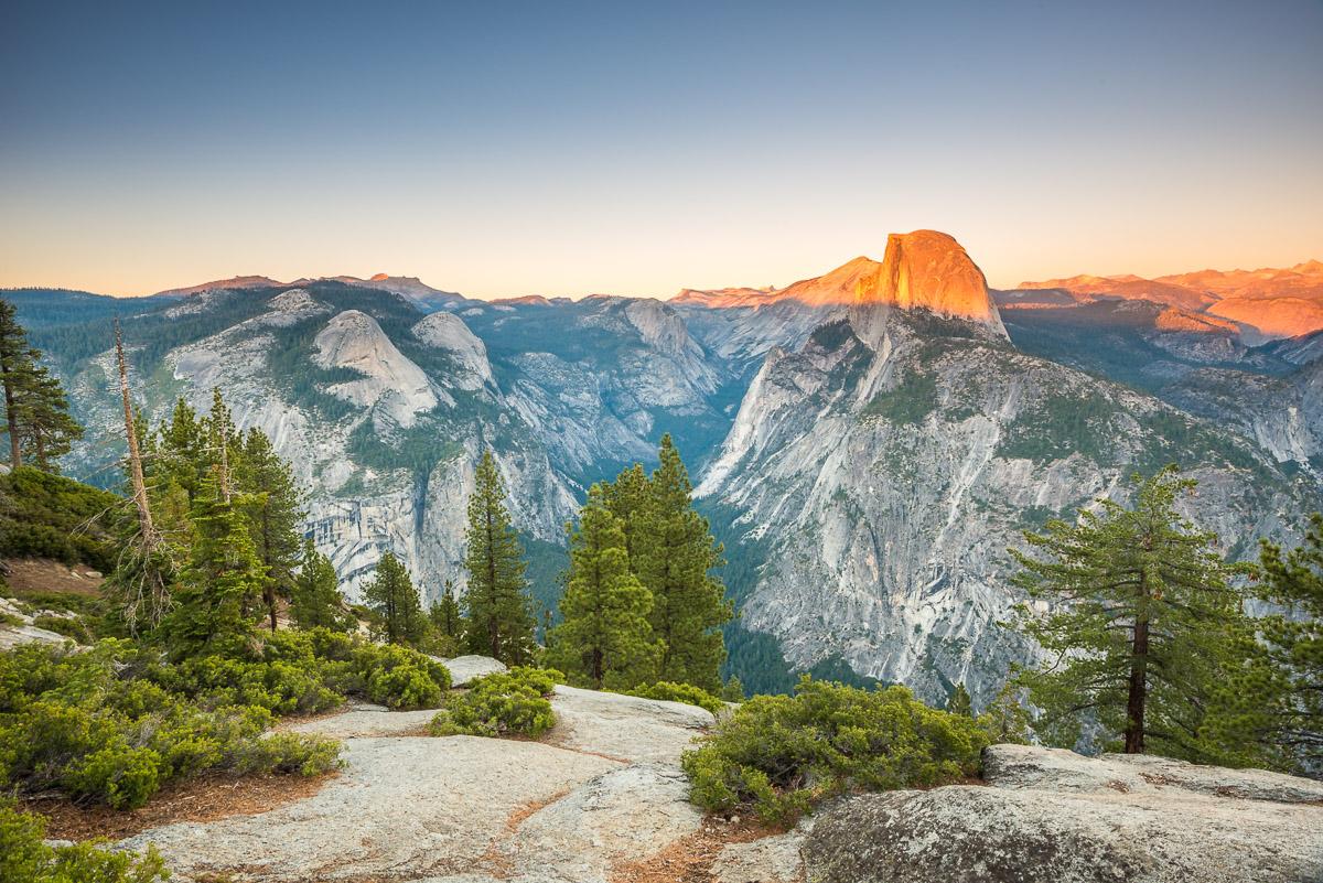 Blick vom Glacier Point im Yosemite Nationalpark