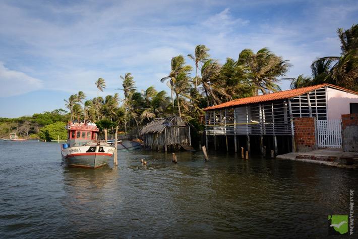 Der kleine Hafen von Mandacaru