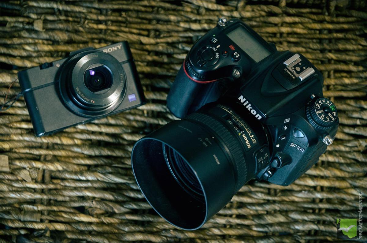 Sony RX100 und Nikon D7100