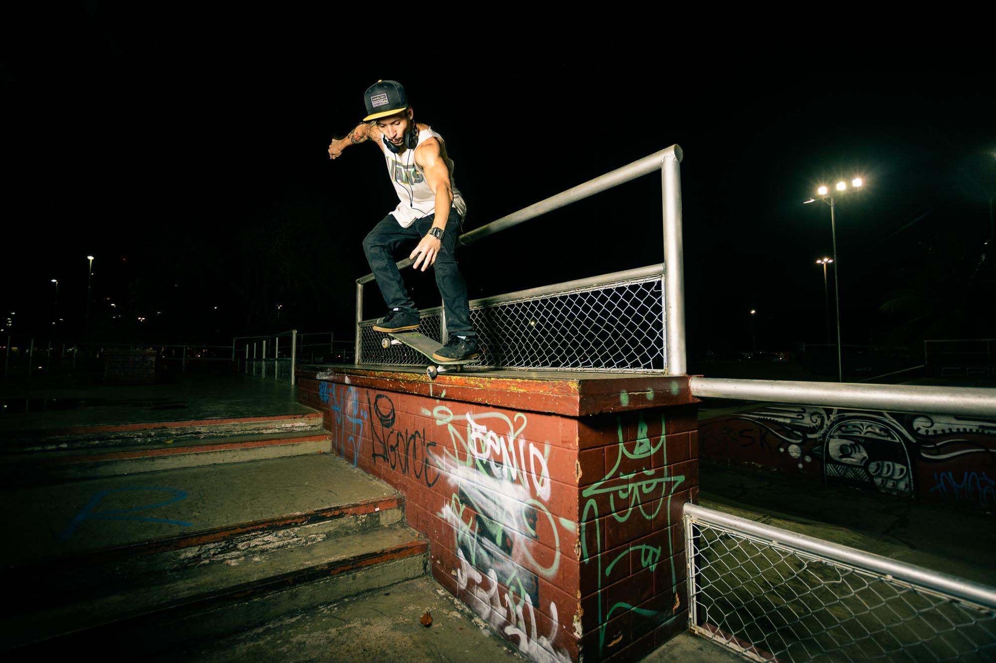Greg Lee Skateboard Trick 1