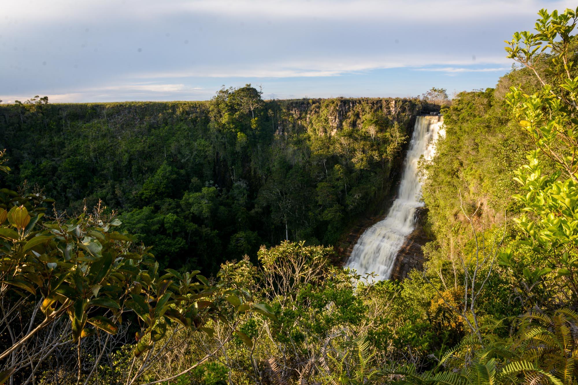 Der unbekannte Wasserfall