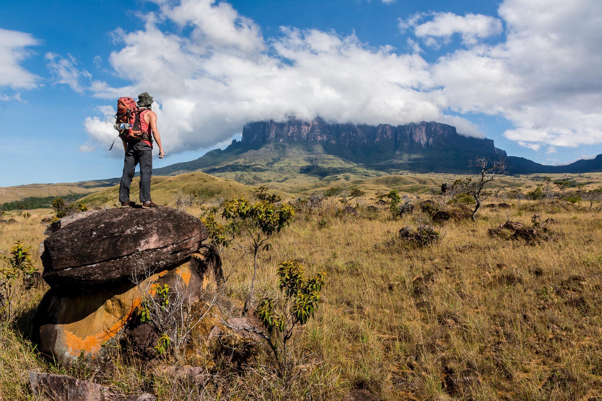 Bilder vom Trecking zum Roraima with Backpacker-Tours. Wiederverkauf ausgeschlossen