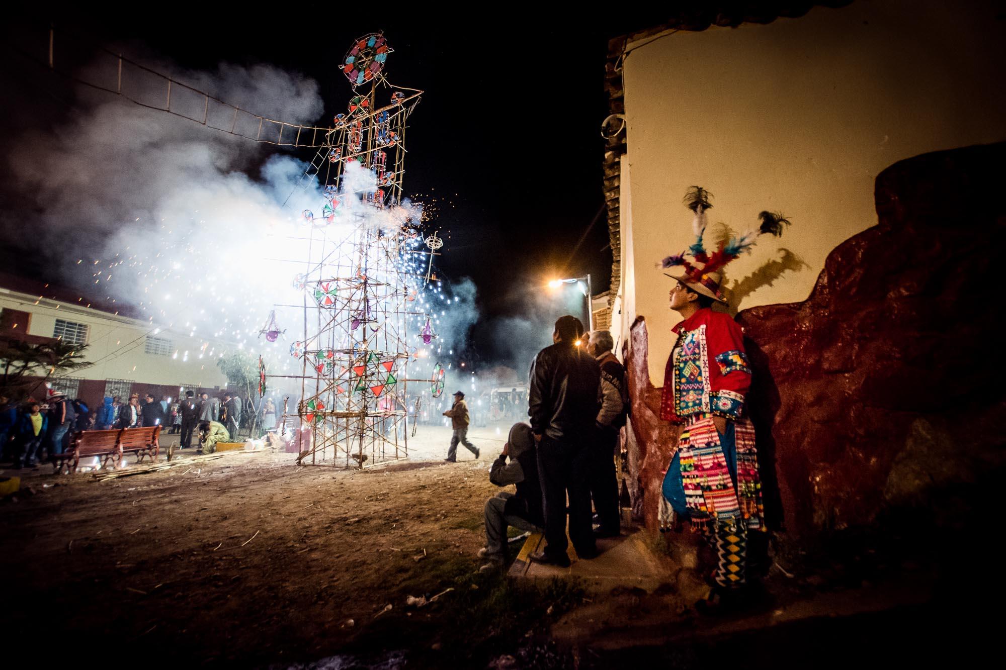 Tradition Feuerwerk