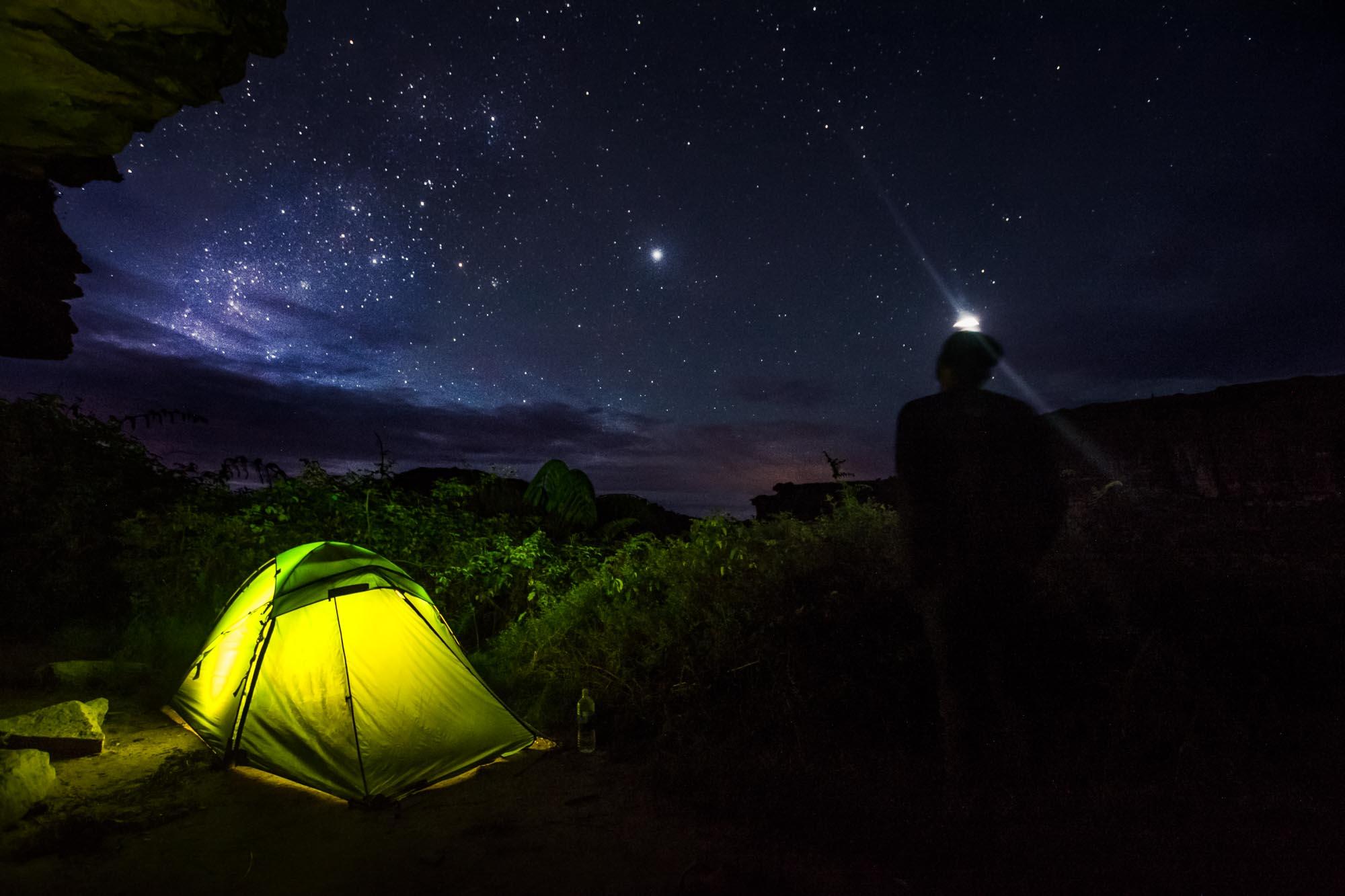 Trecking Roraima Backpacker