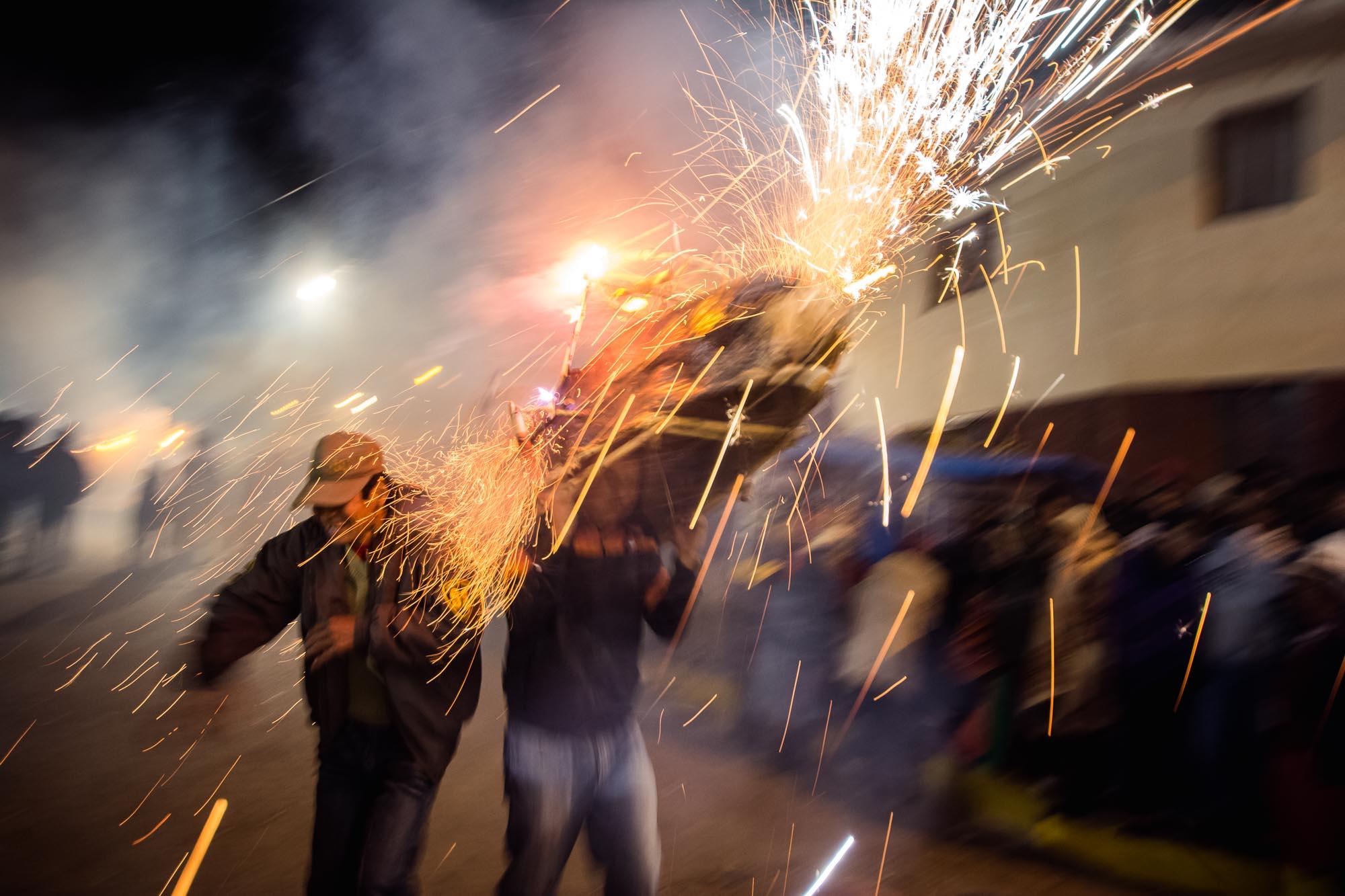 Urubamba Feuerwerk