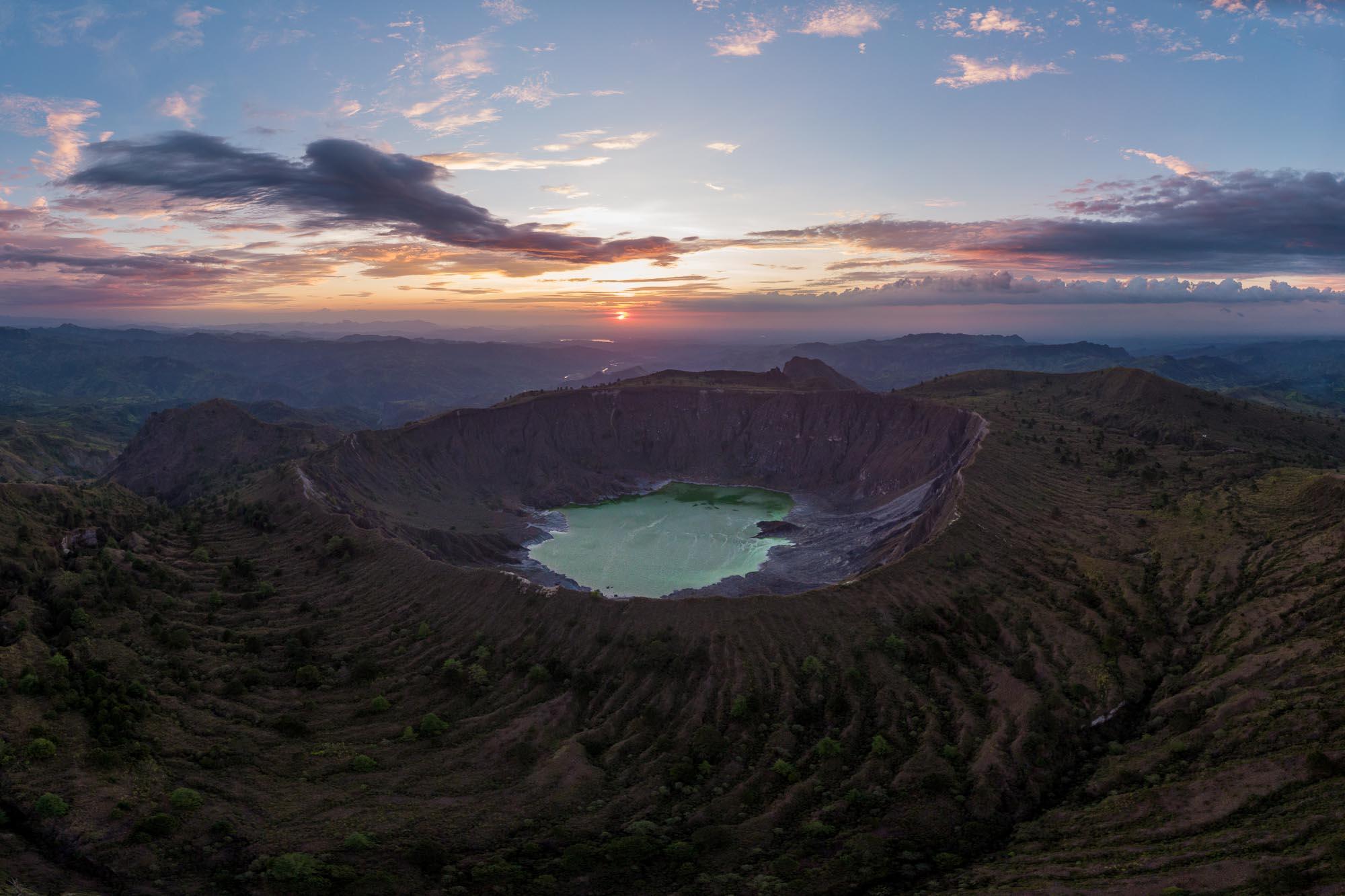 Vulkan Chichonal - Mexiko Chiapas