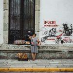 Fu** Imperialismus – Oaxaca Stadt – Streetart